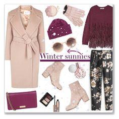 """Winter sunnies"" by bogira ❤ liked on Polyvore featuring Mode, Elizabeth and James, J.Crew, MaxMara, Kate Spade, Portolano, NARS Cosmetics, Benefit, Mario Portolano und Linda Farrow"