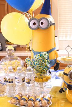 Minions Birthday Party Ideas | Photo 1 of 37