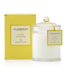 Like the Glasshouse Leura Jasmine Blossoms? Australia's best online candle store that sells the full range of Glasshouse candles including the Glasshouse Bora Bora Cilantro & Orange Zest triple scented candle. Second candle SHIPS FREE! Soy Candles, Scented Candles, Home Spray, Candles Online, Xmas Wishes, Candle Diffuser, Candels, Glass House, Mellow Yellow