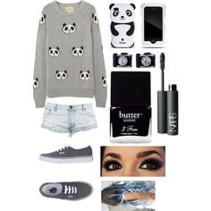 """Panda"" by true-directioner-319 on Polyvore"