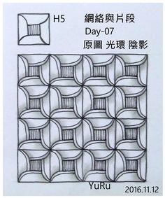Yu rue More Zen Doodle Patterns, Doodle Designs, Zentangle Patterns, Zentangle Drawings, Doodles Zentangles, Doodle Drawings, Doodle Art, Tangle Doodle, Tangle Art