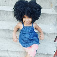 Beautiful Fro on a Mini Natural IG:@evie_queen  ‪#‎naturalhairmag‬