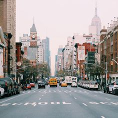 A gorgeous shot of the streets of #NYC. #NewYorkCity #NewYork