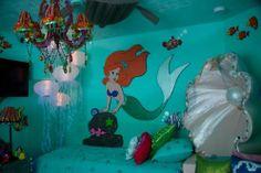 mermaid rooms for little girls | Little Mermaid room! | elfsacks