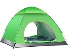 1 x Dôme Tente – 3 ou 4 Personne Popup Instantanée Tente / Full Automatique Pliante Tente pour Camping / Alpinisme / Exploration / Voyages…