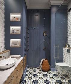 Вид ванны, ее отделка и аксессуары имеют не меньшее значение, чем, скажем, интерьер гостиной.