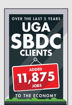 The UGA Small Business Development Center offers no-cost, confidential consulting services to Georgia's small businesses.