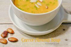 Carrot Almond Soup Recipe