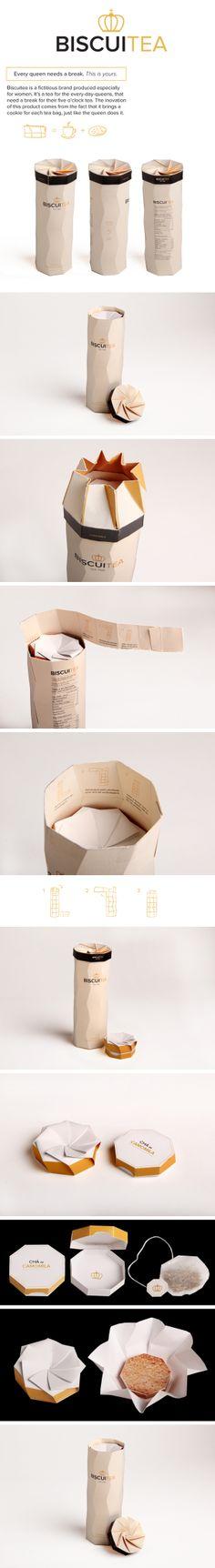 Biscuitea Packaging
