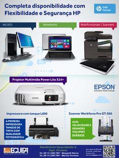 Completa disponibilidade com Flexibilidade e Segurança HP