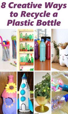 diy home sweet home: 8 creatieve manieren om een plastic fles Recycle