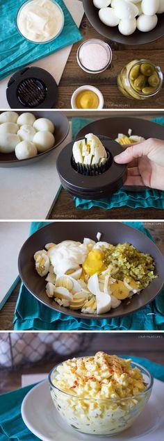 Easy Egg Salad {paleo, Whole30} by @ourpaleolife #paleo #whole30
