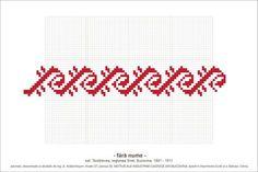 Simple Cross Stitch, Cross Stitch Borders, Cross Stitching, Cross Stitch Patterns, Folk Embroidery, Cross Stitch Embroidery, Embroidery Patterns, Designer Knitting Patterns, Knitting Designs