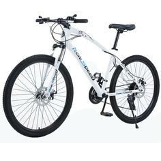 D escription: [Good quality] The sturdy frame, mountain bike frame and excellent welding technology make it a sturdy and durable cruise bike. [Shock absorption system] The front suspension fork can be adapted to any terrain and ride freely . [Unique tire] 26 inch 6 spoke fashion rim tire is more secure and firm. It has […] 26 Inch Mountain Bike, Mountain Bicycle, Mountain Biking, Full Suspension Mtb, Adult Tricycle, Speed Bike, Alloy Wheel, Road Bike