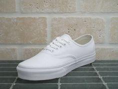 Vans Authentic pure white