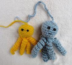 Octo Octo free cat toy #crochet pattern