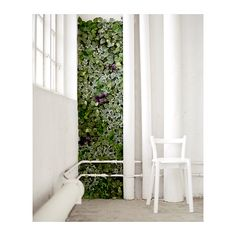 Use to cover wall with French door FEJKA Artificial plant, wall mounted, indoor/outdoor green