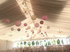 40 cream, soft pink, late paper lanterns