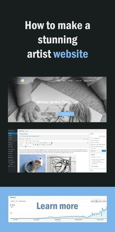 How to make an artist website (and why you need one)
