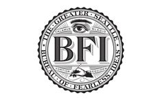 The Greater Seattle Bureau of Fearless Ideas - logo & identity design by Spencer Charles