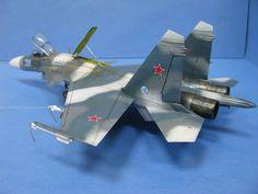 Sukhoi SU-27 D Flanker - Les maquettes de Patrick