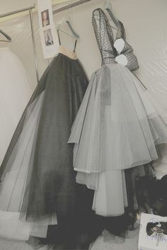 Christian Dior backstage