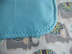 Beauty Elephants baby blanket. Cute cozy Elephant baby blanket. Infant blanket,Receiving blanket, Flannel baby blanket. by MissyCraftsandGoods on Etsy