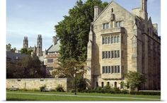 Poster Print Wall Art Print entitled New Haven, Berkeley College, Yale University, None