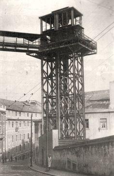 One of Lisbon old elevators that no longer exists.
