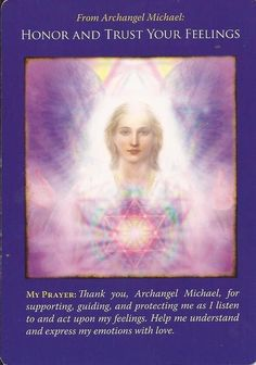 Angel and Oracle Cards – Page 7 – Archangel Oracle My Emotions, Feelings, Archangel Prayers, Angel Stories, Intuition, Angel Guidance, Spiritual Guidance, Spiritual Wisdom, Angel Cards