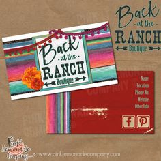 Winged whimsy design business card design plus 500 cards front and site design rebrand for back at the ranch new logo and business cards reheart Gallery