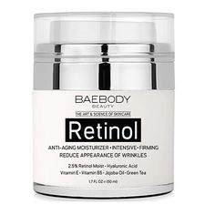 Baebody Retinol Moisturizer Cream for Face and Eye Area - With Retinol, Hyaluronic Acid, Vitamin E. Anti Aging Formula Reduces Look of Wrinkles, Fine Lines http://amzn.to/2iFDyQ9   #Moisturizer #CREAM #Sales #Eyes #VitaminE #Antiaging #Antiwrinkle #beauty #Health #discount #Deals
