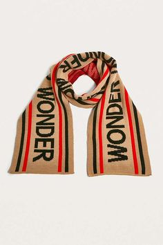 Wonder Striped Scarf | Urban Outfitters