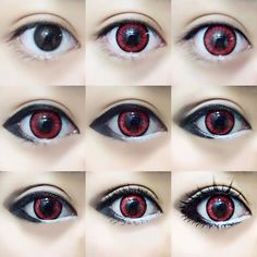 Another eye makeup tutorial for cosplay! Or everyday idc. I like to use this as ...