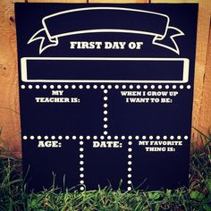First Day of School Photo prop by InfiniteDesigns4u on Etsy