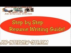 America's Top Resume Writer. Write a Perfect Resume. Free!