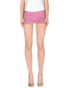 MANILA GRACE Women's Shorts Light purple 29 jeans