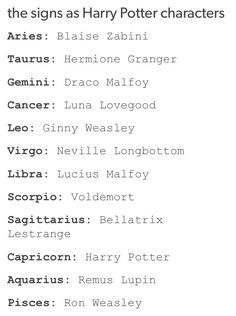It's so funny cuz I'm a ginger and Ginny is my fav and I'm leo ahhh ♡