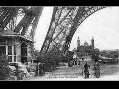Construction de la Tour Eiffel pour l'exposition universelle de Paris _ 1889
