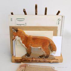 Fox file holder.