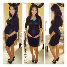 H&M dress 27 weeks pregnant