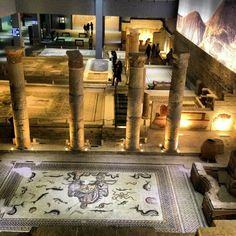 Zeugma Mozaik Müzesi şu şehirde: Gaziantep, Gaziantep
