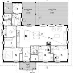 Technical Drawing, Own Home, Beach House, Sweet Home, Floor Plans, Layout, Flooring, How To Plan, Deco