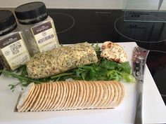 YIAH Tuscan Style Capsicum Pesto dip and sundried tomatoes cheese ( philli ) log rolled in YIAH Mediterranean Dukkah Pop over to http://www.kylieelms.yourinspirationathome.com.au/ for all our latest specials