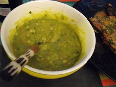 Ají de guacamole