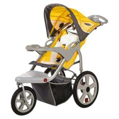 GARAGE - In Step Grand Safari Swivel Wheel Jogger - Yellow - $ 128.  http://www.target.com/p/in-step-grand-safari-swivel-wheel-jogger-yellow/-/A-11946475?ref=tgt_adv_XSG10001&AFID=google_pla_df&LNM=11946475&CPNG=Baby&kpid=11946475&LID=PA&ci_src=17588969&ci_sku=11946475&gclid=CI3Hme_dg74CFYxufgodCokA1w#guest-reviews
