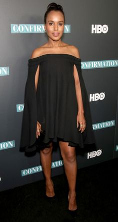 """Kerry Washington at the NYC Special Screening of HBO Film """"Confirmation"""", 4/7/16."""