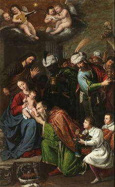 The Adoration of the Magi / La Adoración de los Magos ~ (1631) ~ Pedro Núñez del Valle
