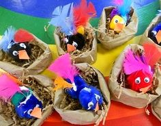 Pompom Birdies - Things to Make and Do, Crafts and Activities for Kids - The Crafty Crow