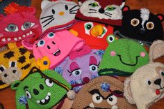 hats MADE BY DEEANIMALS (Deanna Croteau)